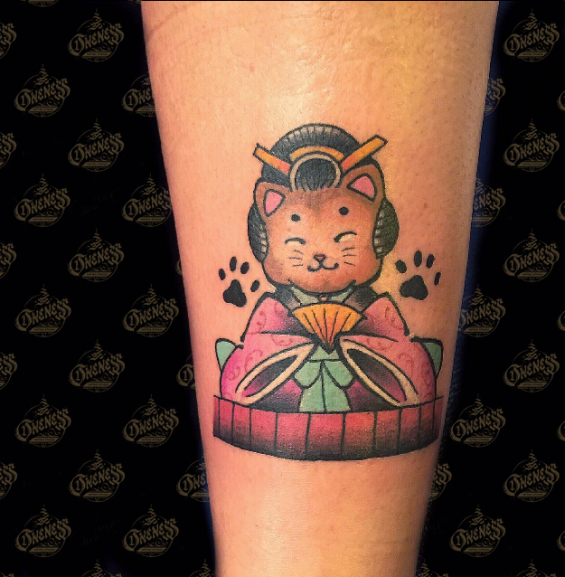 Tattoo Kitten by Sjoerd elstak