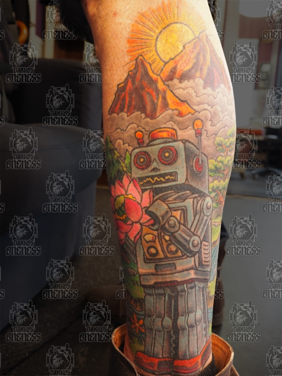 Tattoo Robot by Darko groenhagen