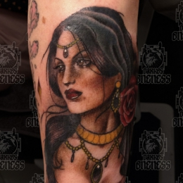 Tattoo Gypsy by Madeleine hoogkamer