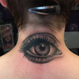 Tattoo Eye by Madeleine hoogkamer