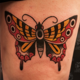 Tattoo Another butterfly by Vincent penning