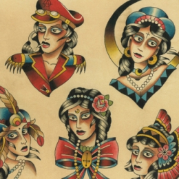Tattoo Chicks flash by Vincent penning