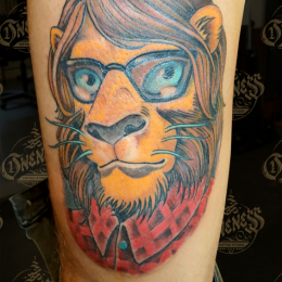 Tattoo Leo by Pieter pas