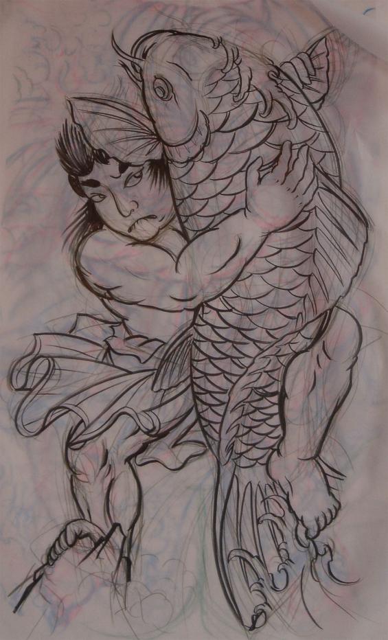 Japanese kintaro   Tattoo by Darko Groenhagen   Darko's