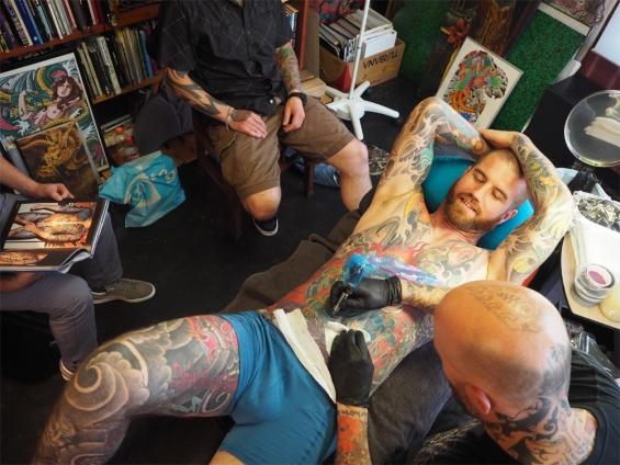 Ink Addicts Around Tilburg Unite Darkos Oneness