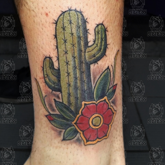 Tattoo Cactus by Pieter pas