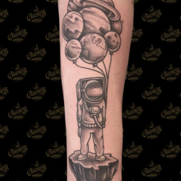 Tattoo Astronaut by Vincent penning