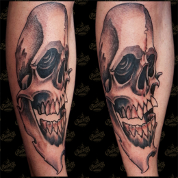 Tattoo Skull by Pieter pas