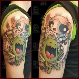 Tattoo Powerpuff by Pieter pas