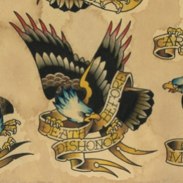 Tattoo Eagles flash by Vincent penning
