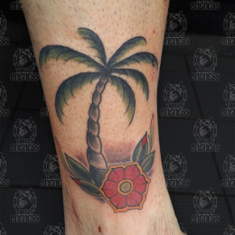 Tattoo Palm by Pieter pas