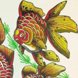 Tattoo Fishies flash by Vincent penning