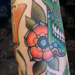 Tattoo Flower by Pieter pas