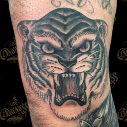 Tattoo Tiger by Sjoerd elstak