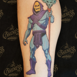 Tattoo Skeletor by Pieter pas