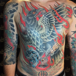Tattoo Chestpiece by Vincent penning