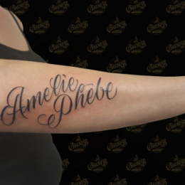 Tattoo Names by Pieter pas